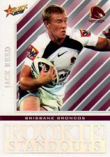 2012 NRL Champions Rookie Standouts #RS1 Jack Reed Broncos
