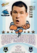2009 NRL Champions Mascot Gem #MG4 Paul Gallen Sharks