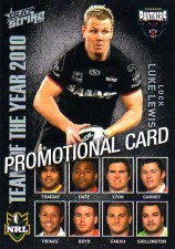 2011 NRL Strike PROMO Card Luke Lewis Panthers