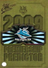2009 NRL Classic Sharks Redeemed Predictor