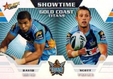 2012 NRL Champions Showtime #ST5 Mead / Prince Titans