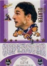 2009 NRL Champions Mascot Gem #MG7 Billy Slater Storm