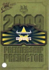 2009 NRL Classic Cowboys Redeemed Predictor