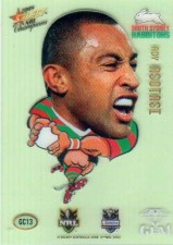2008 NRL Champions Gem Card #GC13 Roy Asotasi Rabbitohs