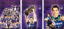 2009 NRL Classic 3-Card Redeemed Premiership Set Storm #69/300