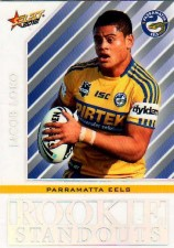 2012 NRL Champions Rookie Standouts #RS17 Jacob Loko Eels