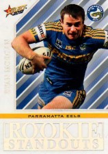 2012 NRL Champions Rookie Standouts #RS18 Ryan Morgan Eels