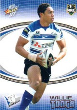 2007 NRL Invincible Common #19 Willie Tonga Bulldogs
