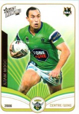 2006 NRL Invincible Common #35 Adam Mogg Raiders