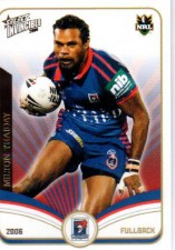 2006 NRL Invincible Common #76 Milton Thaiday Knights