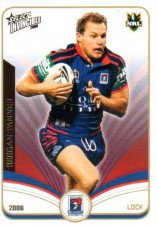 2006 NRL Invincible Common #81 Reegan Tanner Knights