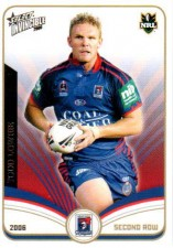 2006 NRL Invincible Common #82 Todd Lowrie Knights