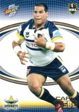 2007 NRL Invincible Common #104 Carl Webb Cowboys