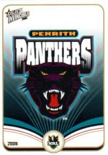 2006 NRL Invincible Common #111 Panthers Logo