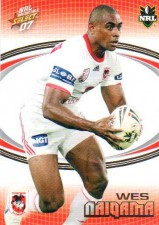 2007 NRL Invincible Common #138 Wes Naiqama Dragons