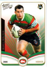 2006 NRL Invincible Common #139 Shane Walker Rabbitohs