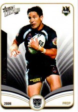 2006 NRL Invincible Common #164 Steve Price Warriors