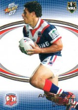 2007 NRL Invincible Common #167 Anthony Tupou Roosters