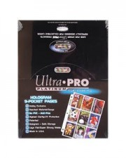 Ultra Pro 9 Pocket Pages – Box (100 pages)
