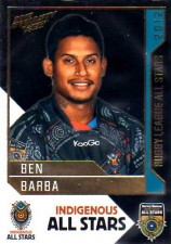 2012 NRL Dynasty All Stars #AS1 Ben Barba Bulldogs