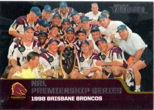 2013 NRL Traders Premierships #P1 1998 Brisbane Broncos