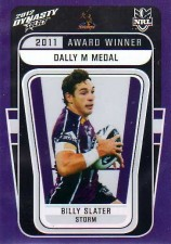 2012 NRL Dynasty Award Winner #AW1 Billy Slater Storm