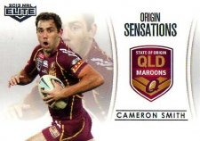 2013 NRL Elite Case Card #OS2 Cameron Smith Storm QLD