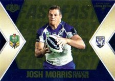 2013 NRL Elite Fast & Furious GOLD #FFS2 Eastwood / Morris Bulldogs