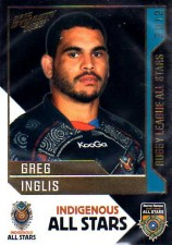 2012 NRL Dynasty All Stars #AS3 Greg Inglis Rabbitohs