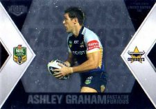 2013 NRL Elite Fast & Furious #FF4 Sims / Graham Cowboys