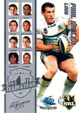2012 NRL Dynasty TOTY #TY6 Paul Gallen Sharks