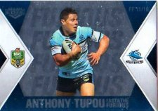 2013 NRL Elite Fast & Furious #FF11 Tupou / Wright Sharks