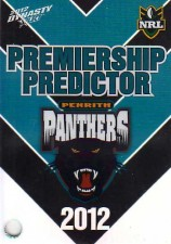 2012 NRL Dynasty Top Try Scorer #TT11 Michael Jennings Panthers with Redeemed Predictor