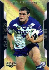 2014 NRL Elite Gold Parallel #SP12 Dale Finucane Bulldogs