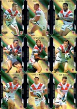2014 NRL Elite 9-Card Gold Parallel Team Set St.George Dragons