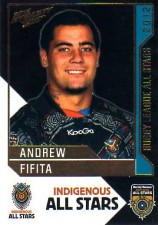 2012 NRL Dynasty All Stars #AS14 Andrew Fifita Sharks