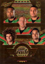 2012 NRL Dynasty Gold League Leader LLG14 Asotasi / Burgess / Croker / King / Sutton Rabbitohs #147/150
