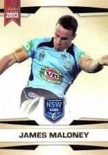 2013 NRL Limited Edition #14 James Maloney Roosters NSW