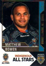 2012 NRL Dynasty All Stars #AS16 Matthew Bowen Cowboys