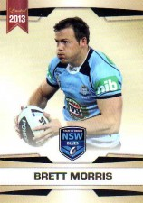 2013 NRL Limited Edition #15 Brett Morris Dragons NSW