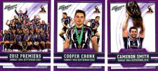 2012 NRL Dynasty 3-Card Redeemed Premiership Set Storm #33/400