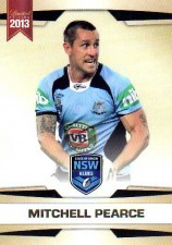 2013 NRL Limited Edition #16 Mitchell Pearce Roosters NSW