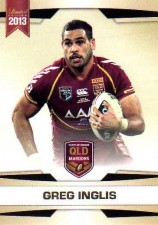 2013 NRL Limited Edition #17 Greg Inglis Rabbitohs QLD