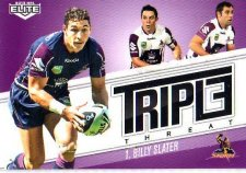 2013 NRL Elite Triple Threats TT19 Billy Slater Storm
