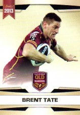 2013 NRL Limited Edition #21 Brent Tate Cowboys QLD
