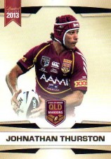 2013 NRL Limited Edition #22 Johnathan Thurston Cowboys QLD