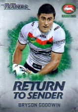 2014 NRL Traders Return to Sender #RTS23 Bryson Goodwin Rabbitohs