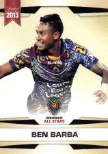 2013 NRL Limited Edition #23 Ben Barba Bulldogs Indigenous