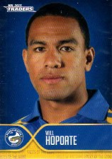 2015 NRL Traders Faces of the Game #FOTG25 Will Hopoate Eels