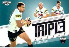 2013 NRL Elite Triple Threats TT28 Tim Grant Panthers
